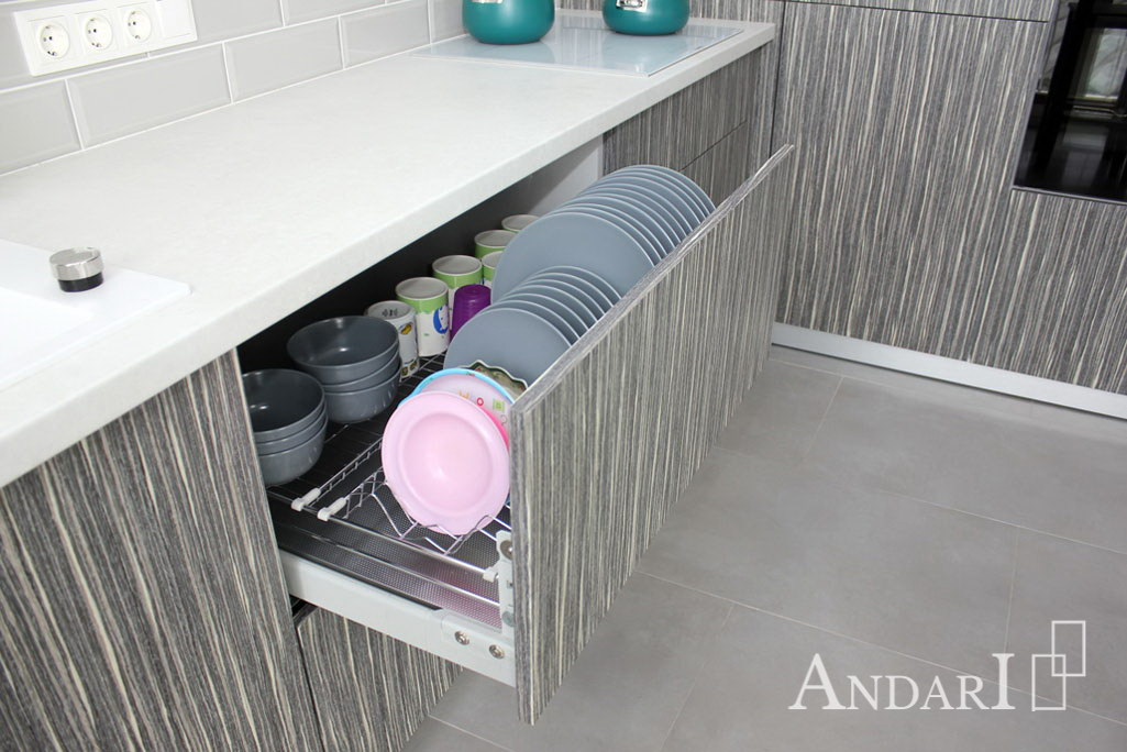 Выдвижная сушка для посуды Cromatica от Inoxa - Андари