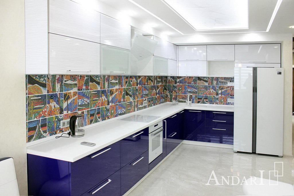 синяя кухня Андари