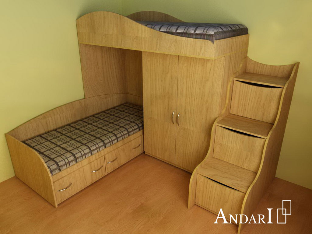 двухъярусная кровать Андари