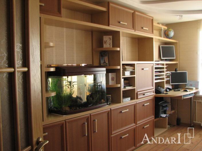 Рабочее место в гостиной Андари
