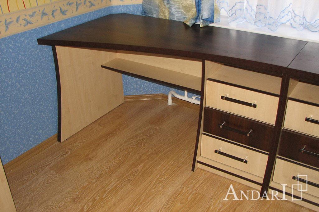 Рабочий стол с тремя выдвижным ящиками - Андари