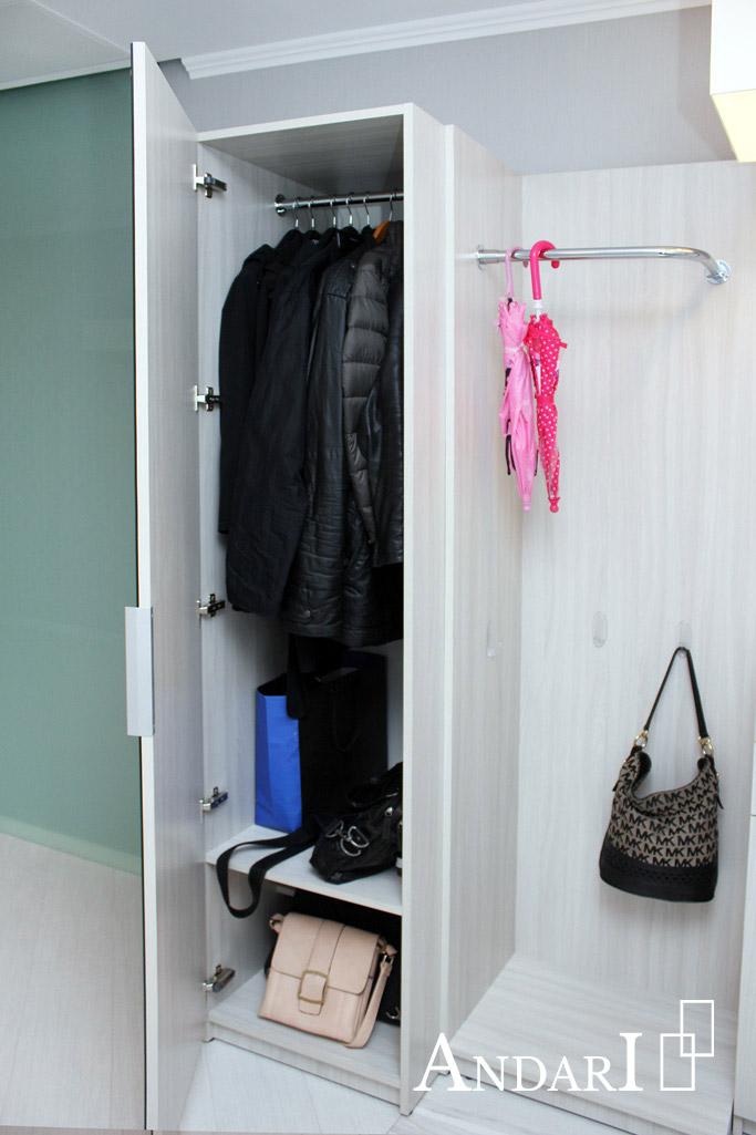 Наполнение распашного шкафа - Андари