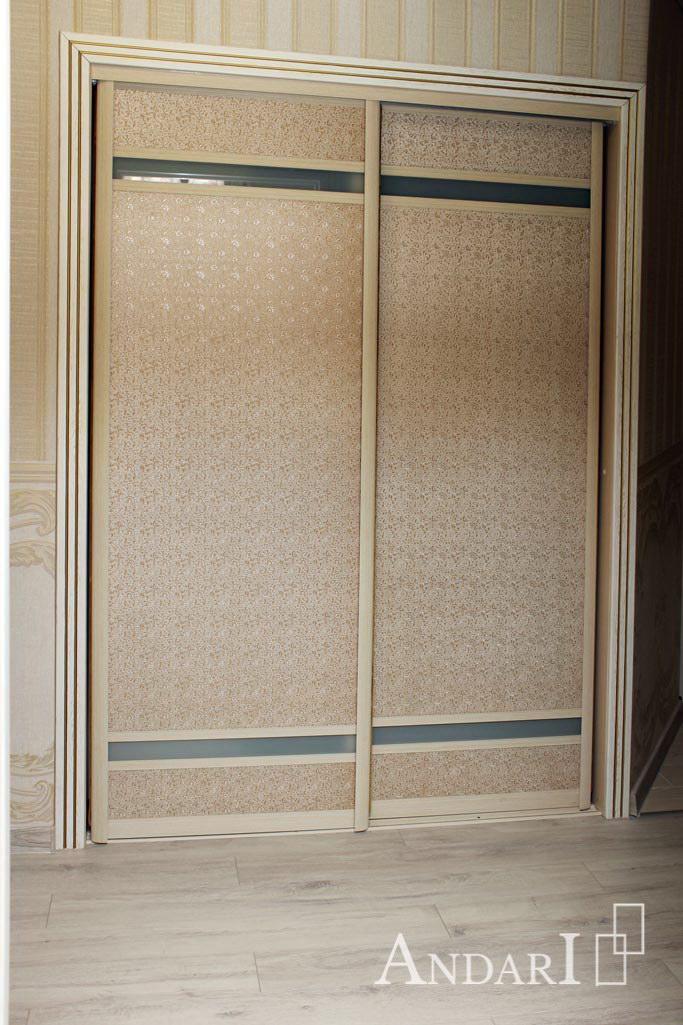 Двери-купе из экокожи (Модус, Лакобель) - Андари