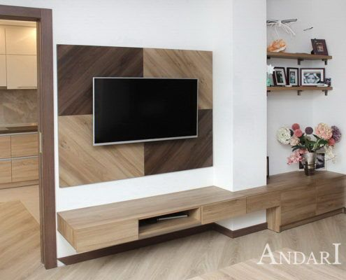 Подвесная мебель в гостиную Андари