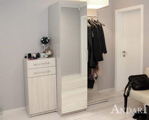Модульная прихожая с распашным шкафом - Андари