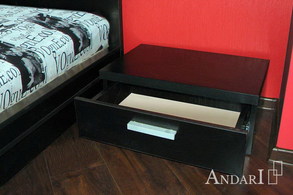Прикроватная тумба с одним ящиком- Андари