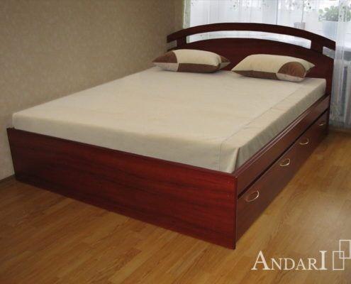 Кровать с фигурным изголовьем Андари