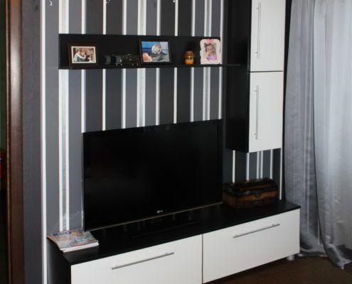 Черно-белая мебель для гостиной - Андари