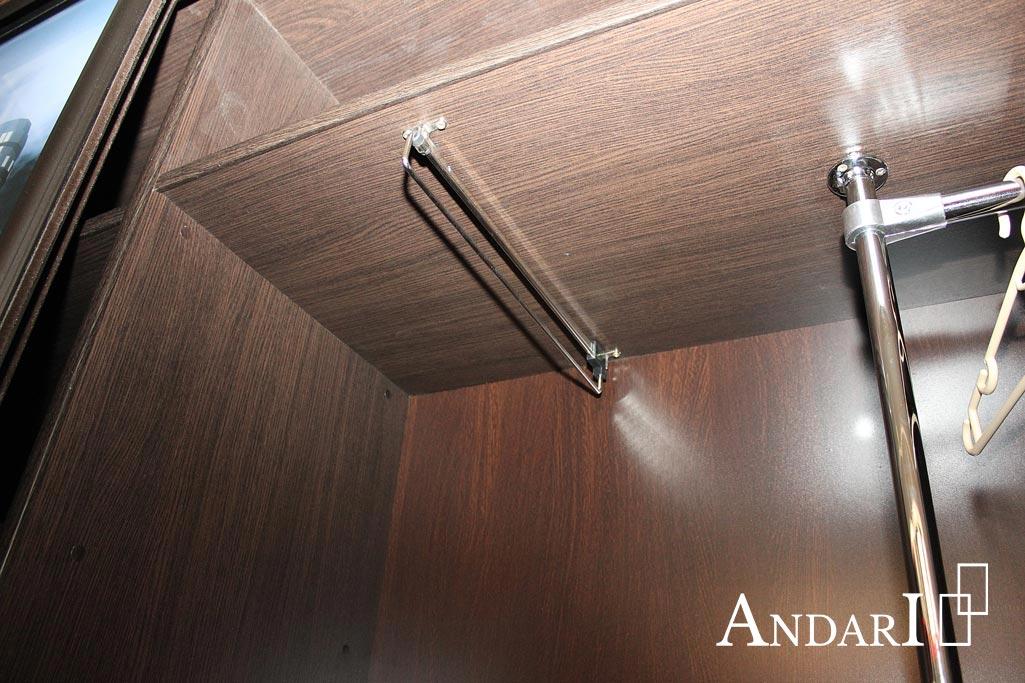 Наполнение шкафа-купе: выдвижная вешалка - Андари
