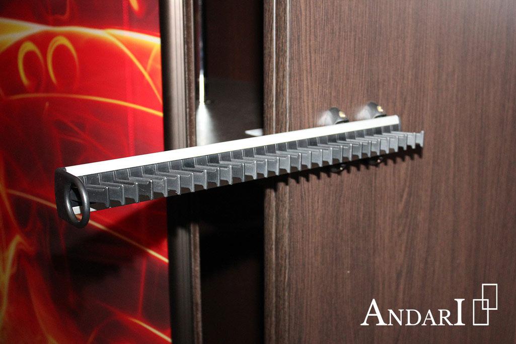Наполнение шкафа-купе: вешалка для галстуков - Андари
