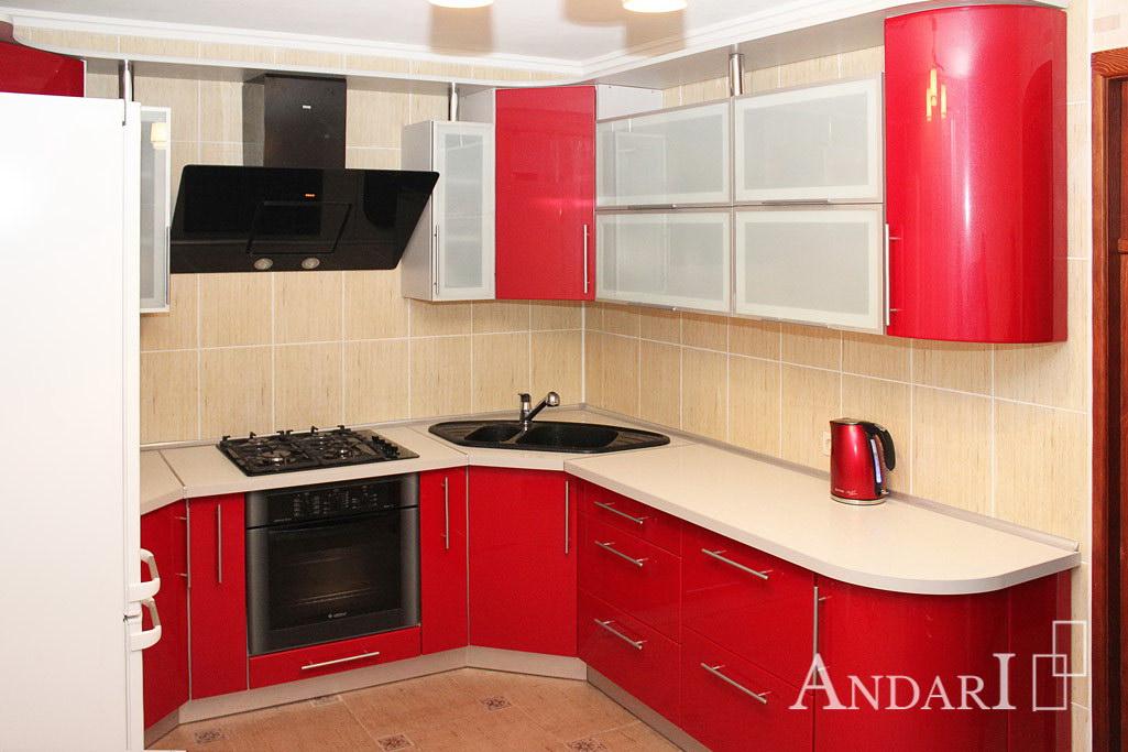 Красная угловая кухня - Андари