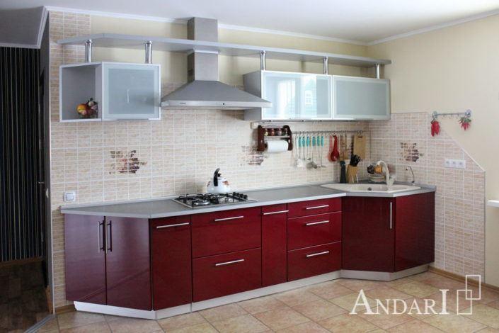 кухня параллельной планировки Андари