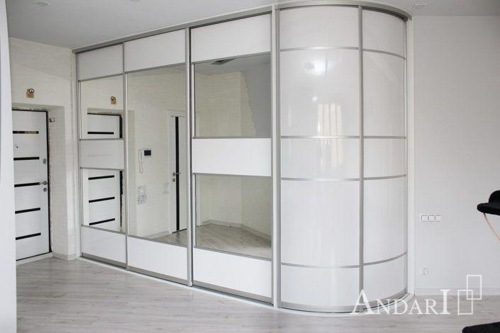 Радиусный шкаф-купе Андари