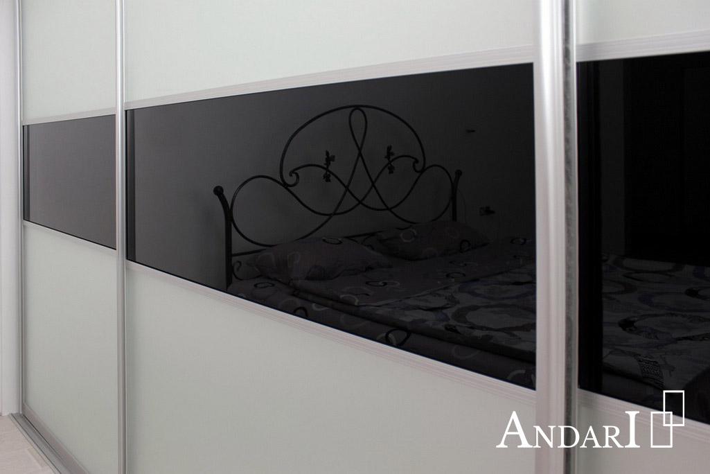 Шкаф-купе в спальне лакобель Андари