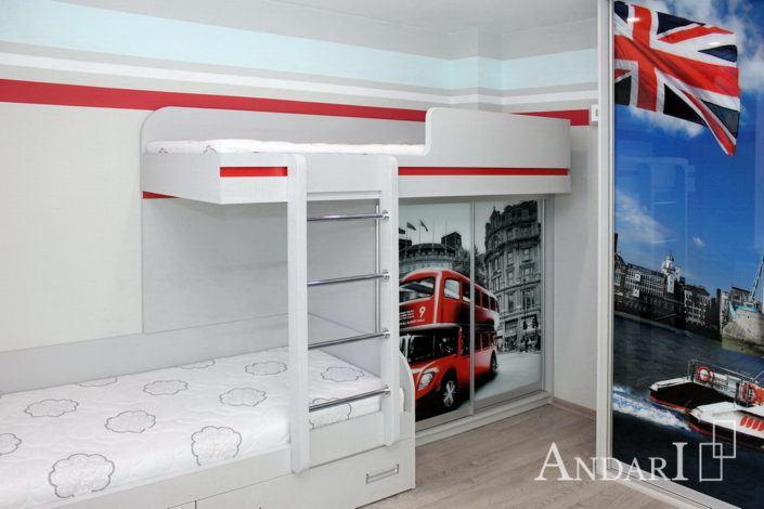 Детская комната для мальчиков Андари