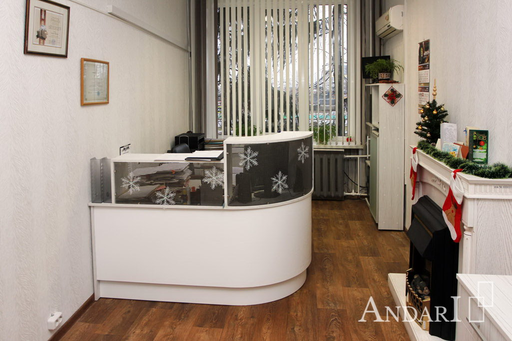 офисная мебель для приемной ресепшн Андари