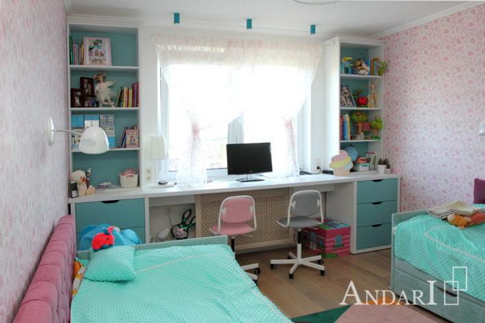 Светлая детская для двоих детей - Андари
