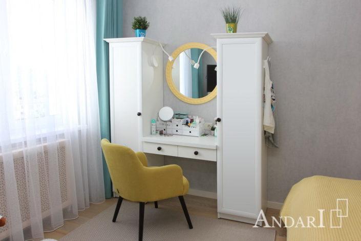 Спальня с туалетным столиком Андари