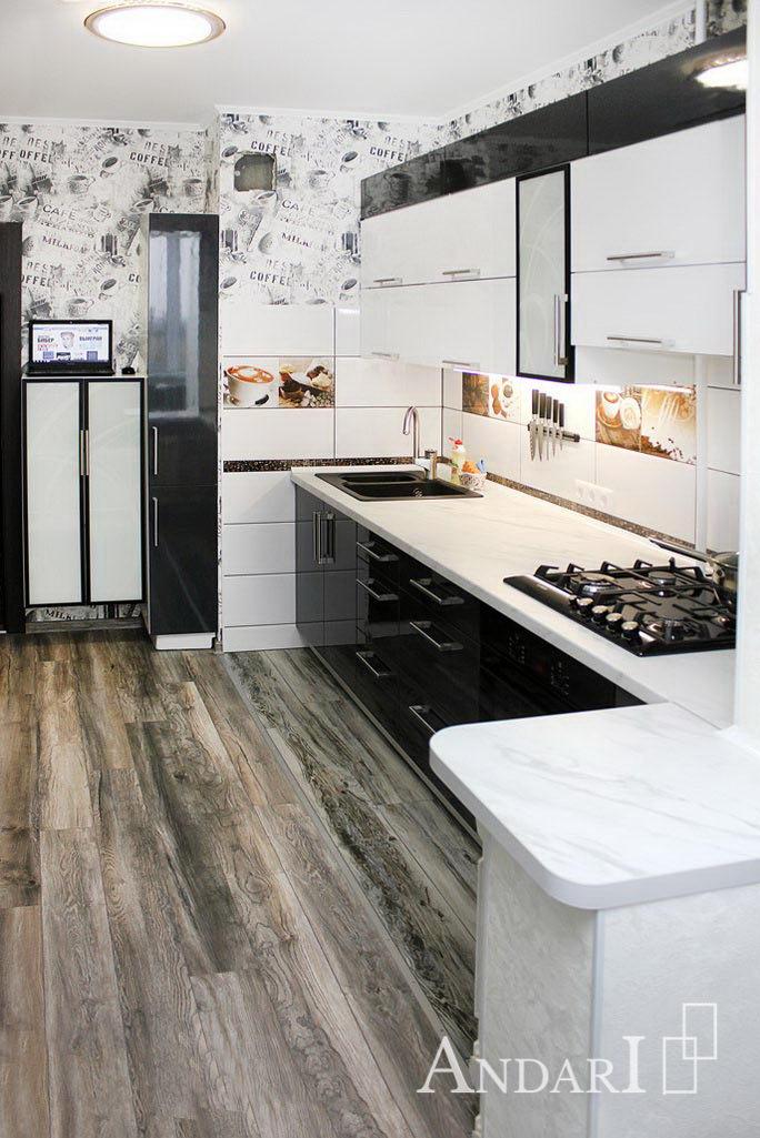 Кухня объединенная с балконом - Андари