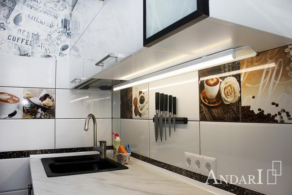 Подсветка рабочей зоны кухни - Андари