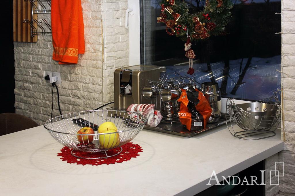 Стол-остров, рабочая поверхность и обеденный стол - Андари