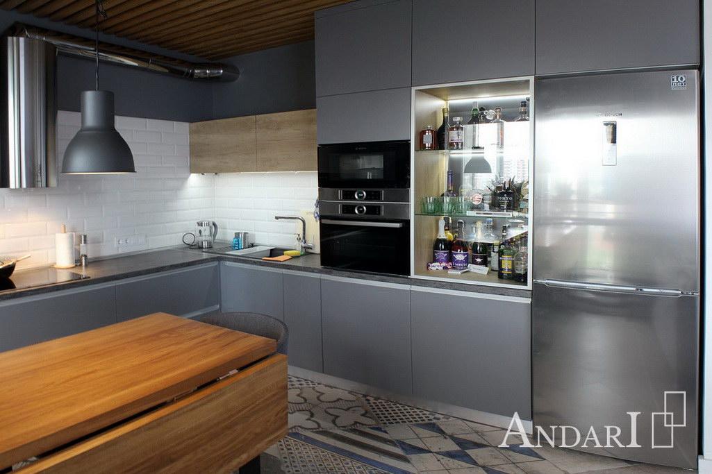 кухни лофт Андари