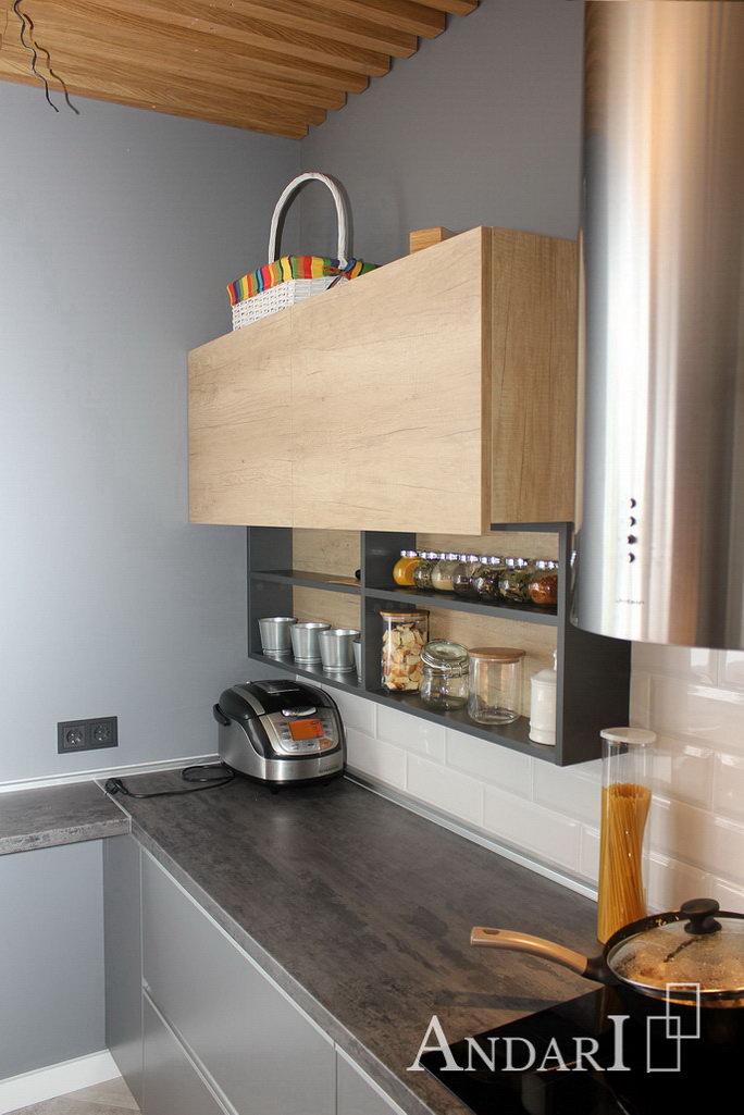 Угловые кухни лофт Андари