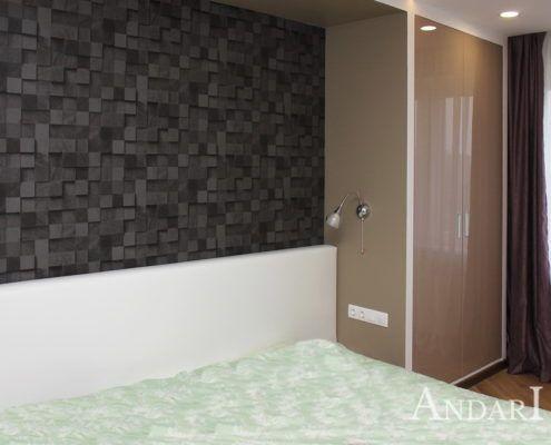 Распашной шкаф в спальне - Андари