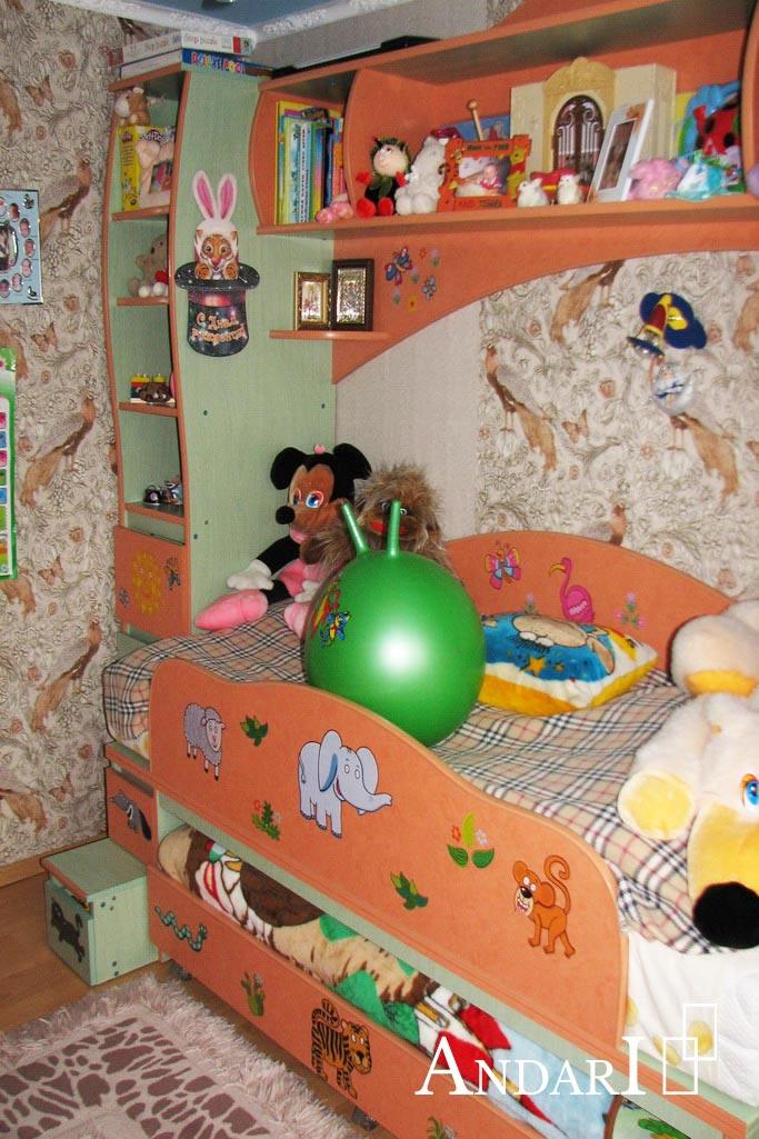 Выдвижная кровать в сложенном виде - Андари