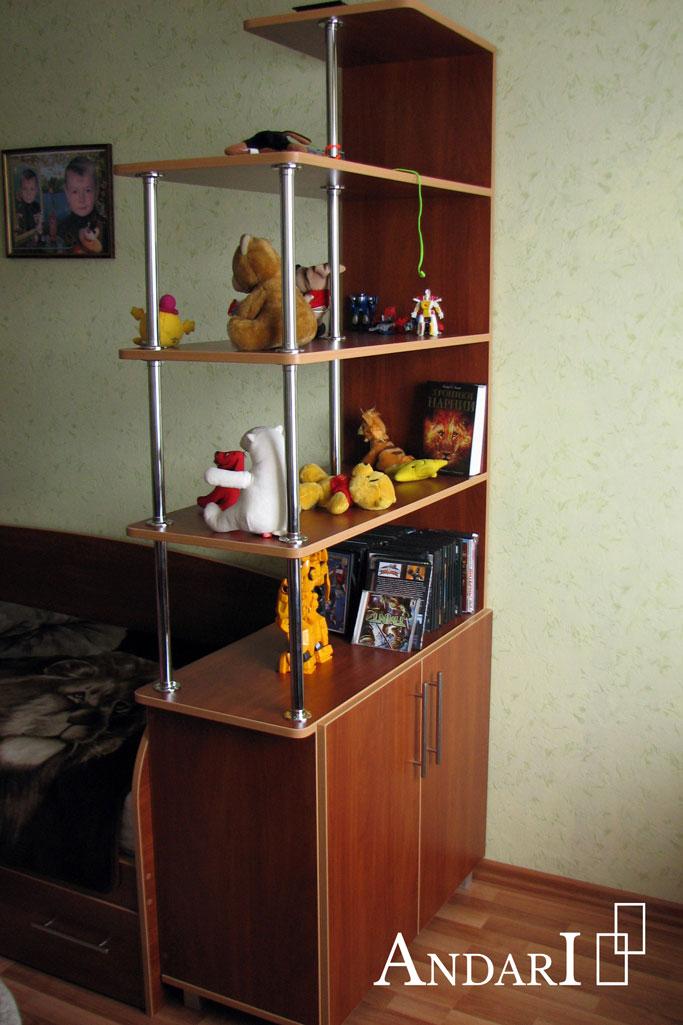 Стеллажи для зонирования детской комнаты - Андари