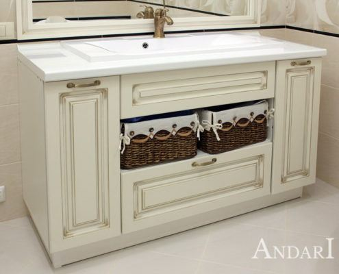 Мебель в ванную - Андари