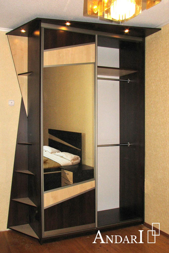 Наполнение шкафа-купе: отделение для вешалок - Андари