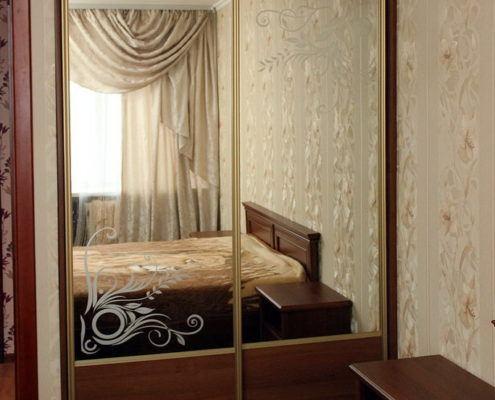 Шкаф-купе с пескоструйным рисунком - Андари