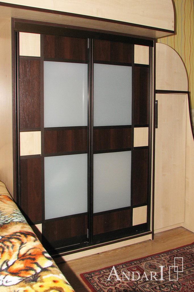 Шкаф-купе под верхней кроватью - Андари