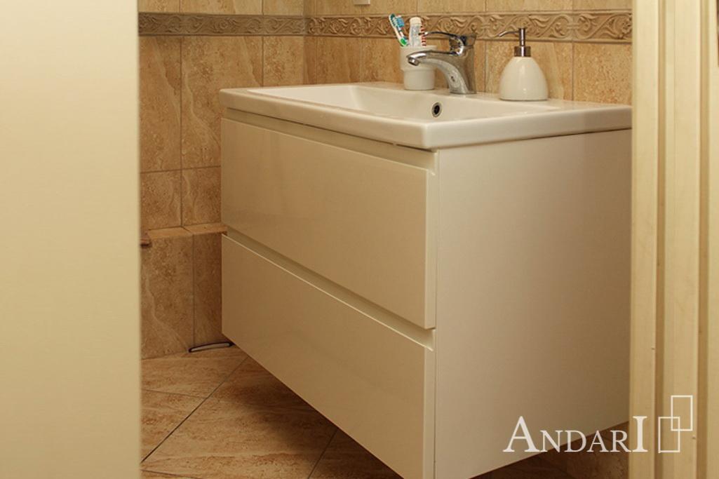 Тумба для ванной с интегрированными ручками - Андари