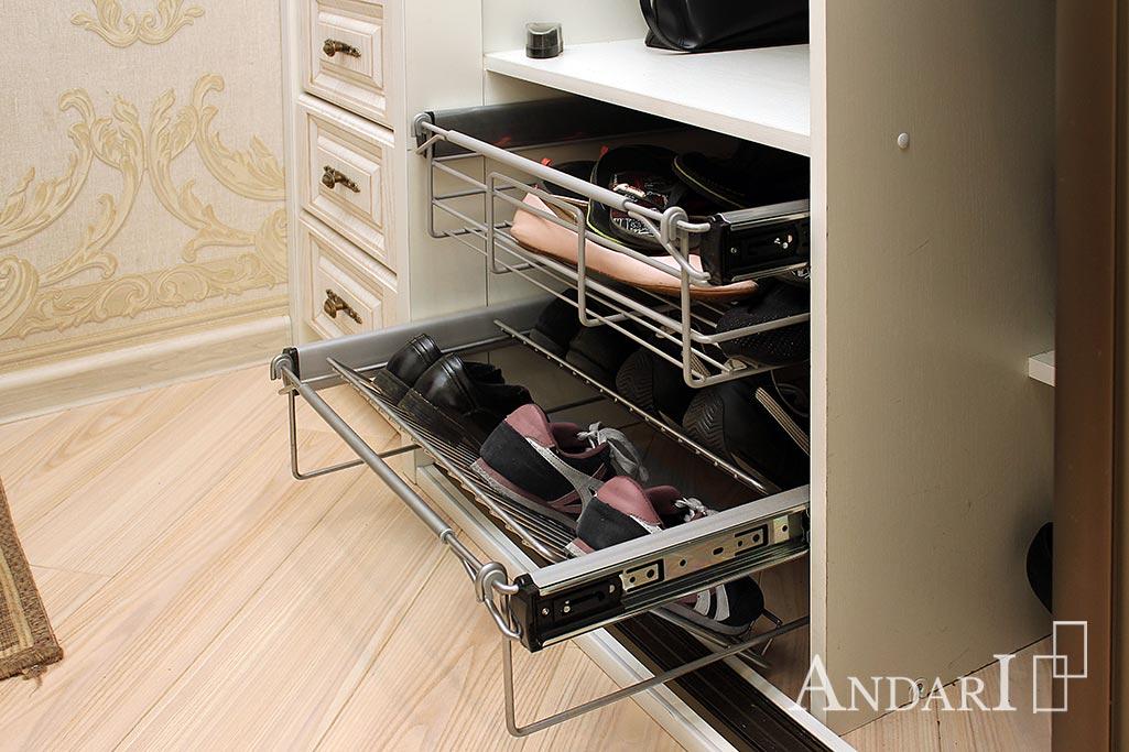 Выдвижные корзины для обуви - Андари