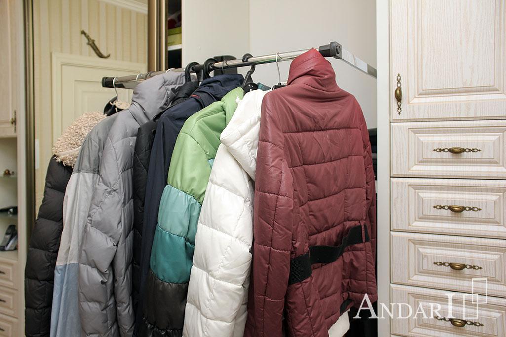 Пантограф для хранения одежды на вешалках - Андари