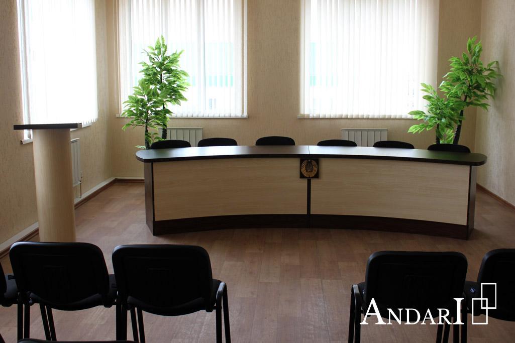 Мебель для конференц-зала: полукруглый стол для заседаний - Андари