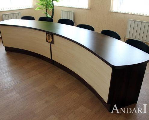 Мебель для конференц-зала: полукруглый стол - Андари
