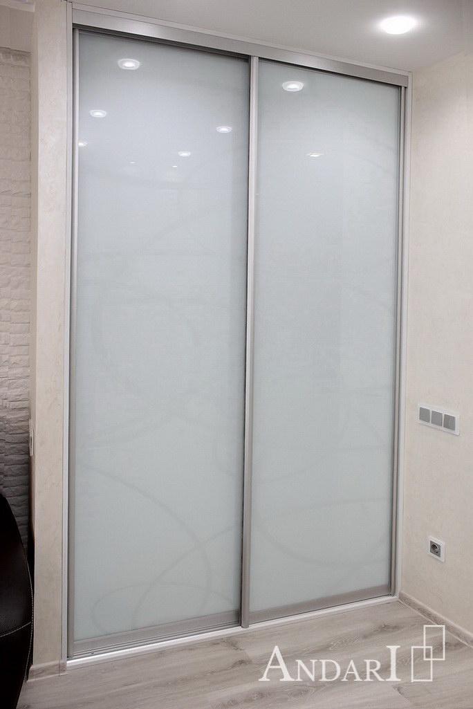 Пескоструйный рисунок на стекле Лакобель - Андари