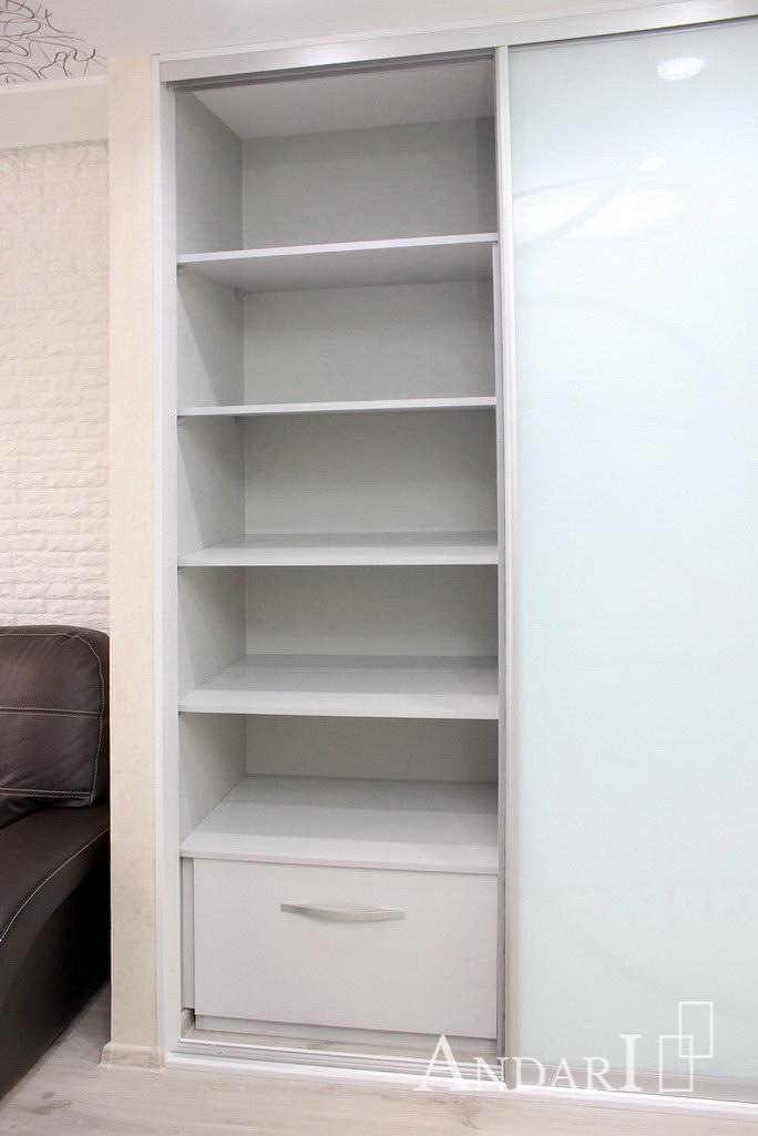 Наполнение двухдверного шкафа-купе: полки и выдвижной ящик - Андари