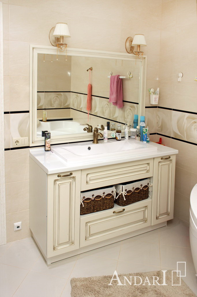 Тумба с умывальником для ванной комнаты - Андари