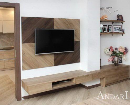 Подвесная мебель в гостиной Андари