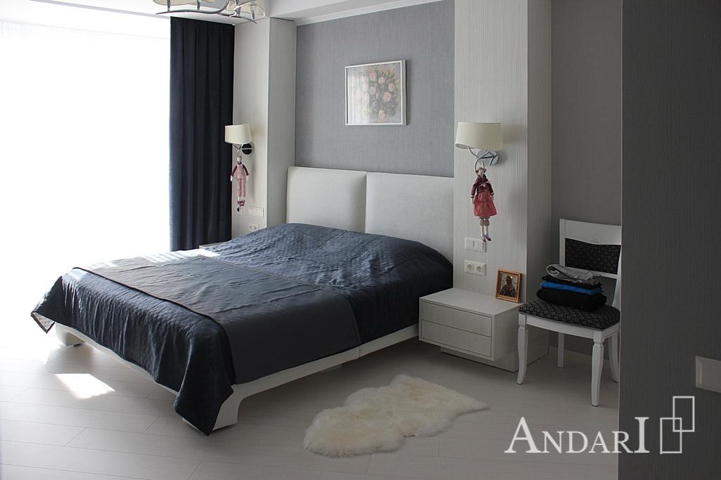 Подвесные тумбы в спальне - Андари