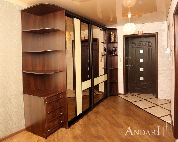 Встроенный шкаф-купе в прихожей Андари
