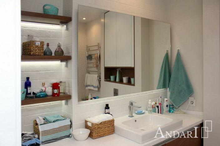 Мебель для совмещенной ванной комнаты - Андари