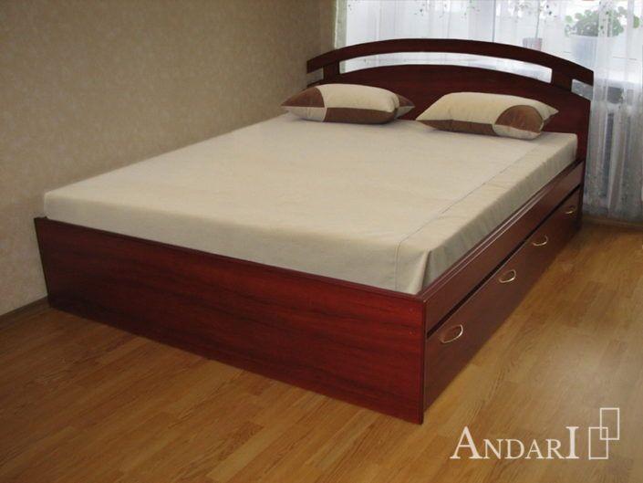 Кровать с фигурным изголовьем - Андари