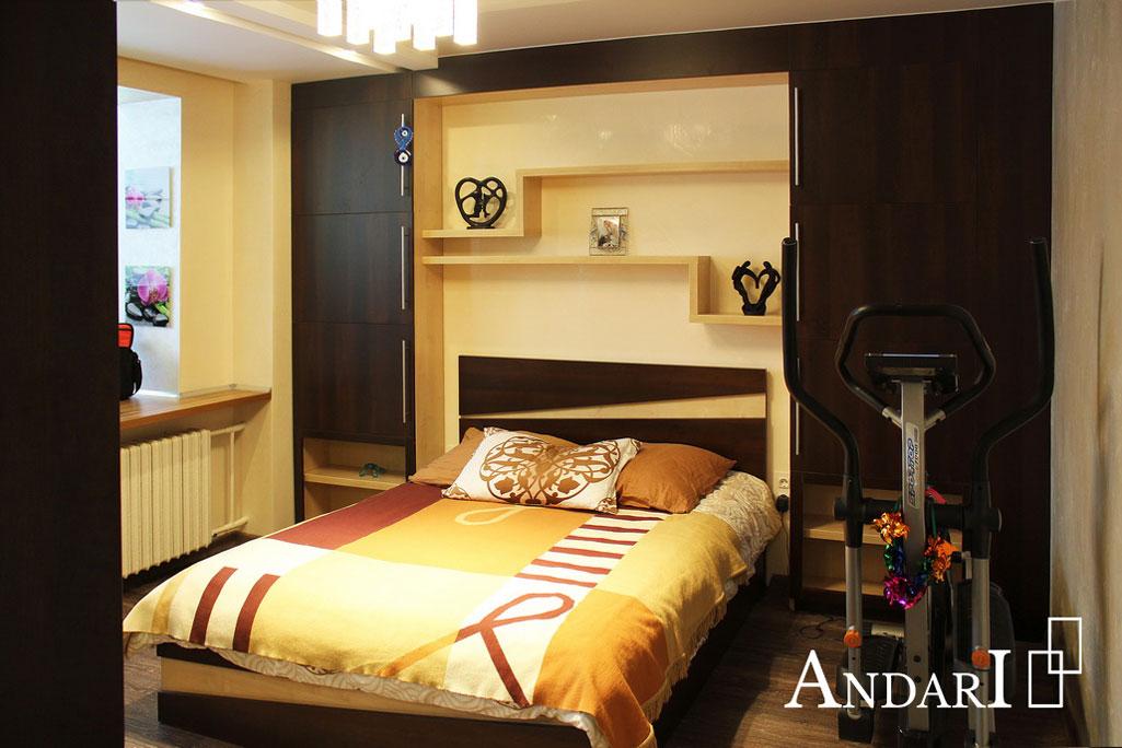 Мебель для спальни с декоративными вставками - Андари