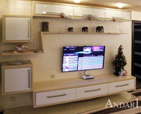Светлая мебель для гостиной Андари