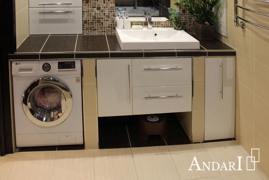 Мебель для ванной в нишах - Андари